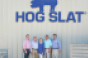 In addition to their 30,000-sow farm, the Herring family — David (left), Billy, Magdalene, Mark and Tommy — oversees hog construction jobs all over the world and employs more than 2,000 people.