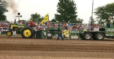This Week in Agribusiness - Antique tractor pull at 50 Years of Progress Show