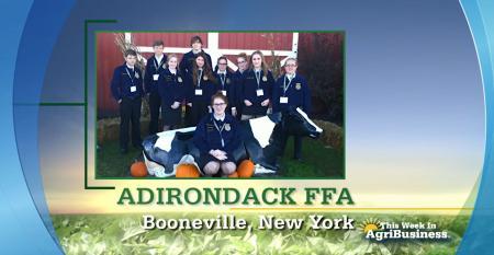 FFA Chapter Tribute - Adirondack FFA
